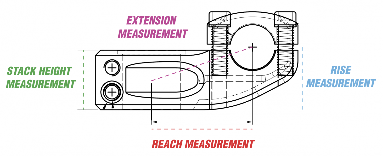 BMX STEM MEASUREMENTS