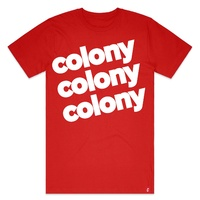 Colony Lowercase T-Shirt (New Colours)