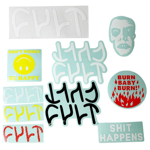 Cult BMX Stickers Pack